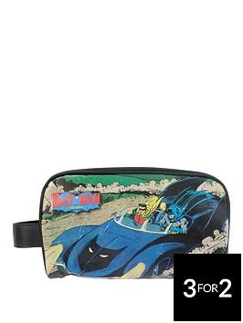 batman-vintage-print-toiletry-bag