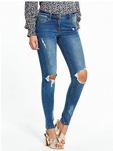 v-by-very-ella-mid-rise-rip-skinny-jean