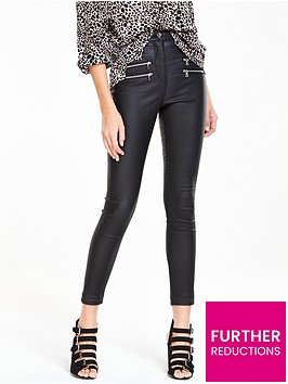v-by-very-ella-high-waist-double-zip-coated-skinny-jeannbsp