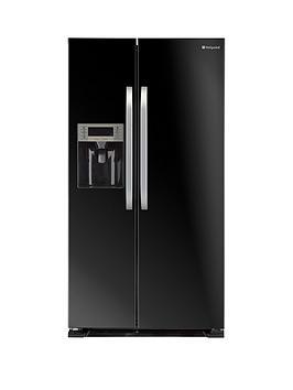 hotpoint-sxbd925fwd-frost-free-american-style-fridge-freezer-black