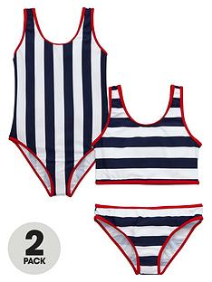 v-by-very-girls-nautical-swimsuit-and-tankini-set
