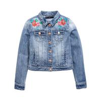 V by Very Girls Embroidered Denim Jacket | very.co.uk