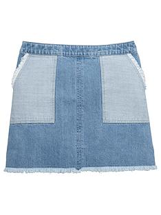v-by-very-patch-pocket-denim-skirt