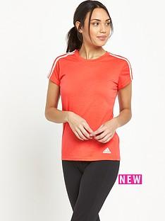 adidas-3-stripe-slim-t-shirt