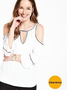 v-by-very-contrast-bind-cold-shoulder-top