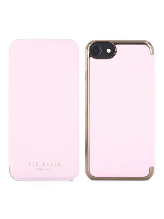 c32c66d8086 Shannon Slim Mirror Case for iPhone 6/7/8 - Nude/Rose Gold
