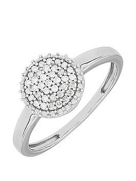 love-diamond-9ct-white-gold-16-point-white-diamond-cluster-ring