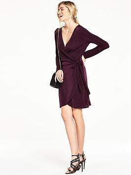 v-by-very-slinky-wrap-dress