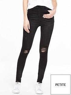 v-by-very-petite-ella-high-waist-rip-skinny