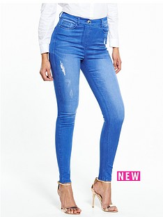 v-by-very-petite-ella-high-waist-rip-skinny-jean