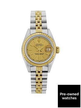 rolex-bimetal-datejust-champagne-26mm-dial-ladies-watch-pre-owned