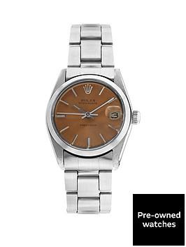 rolex-steel-oysterdate-salmon-31mm-dial-original-vintage-stainless-steel-bracelet-midsize-watch-pre-owned