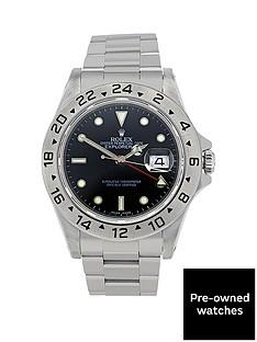 rolex-rolex-preowned-explorer-ii-black-40mm-dial-mens-watch