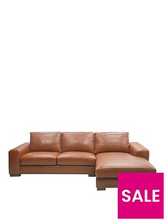 clyde-3-seater-right-hand-premium-leather-chaise-sofa