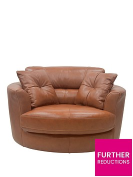 clyde-premium-leather-swivel-chair