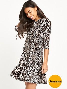 glamorous-drop-waist-dress-leopard-print