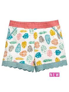 mini-v-by-very-girls-leaf-print-broderie-trim-shorts