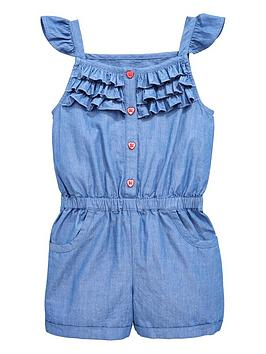 mini-v-by-very-girls-chambray-frill-playsuit