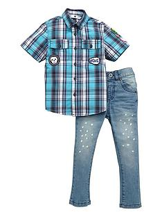 mini-v-by-very-toddler-boys-check-shirt-and-jeans-set-2-piece