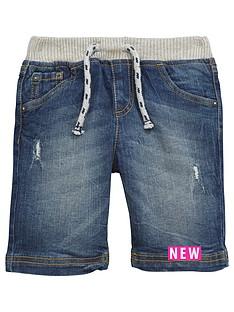 mini-v-by-very-toddler-boys-ribbed-waist-denim-shorts
