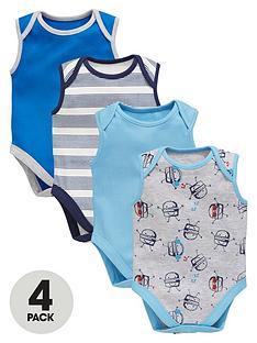ladybird-baby-boys-bodysuit-set-4-pack