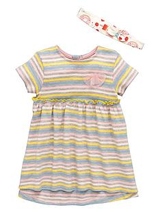 ladybird-nbspbaby-girls-stripe-dress-amp-headband