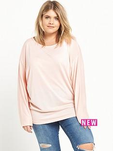 ri-plus-ri-plus-pink-batwing-top