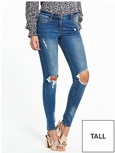 v-by-very-tall-ella-mid-rise-rip-skinny-jeannbsp