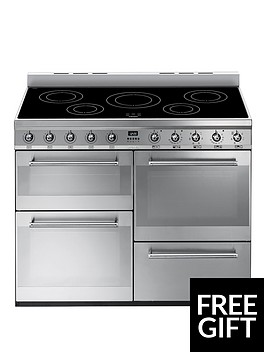 smeg-syd4110i-110cm-symphony-dual-fuel-range-cooker-with-induction-hob-stainless-steel