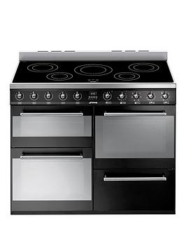 smeg-syd4110iblnbsp110cmnbspsymphony-dual-fuel-range-cooker-with-induction-hob--nbspblack