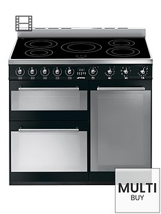 smeg-sy93ibl-90cm-3-cavity-range-cooker-with-induction-hob