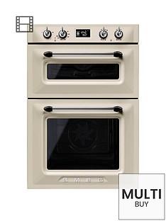 smeg-dosf6920p-60cmnbspbuilt-in-double-electric-oven-cream