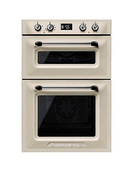 smeg-dosf6920p-60cmnbspbuilt-in-double-electric-oven-cream