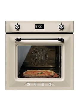 smeg-sfp6925ppze-60cmnbspbuilt-in-single-electric-oven-cream