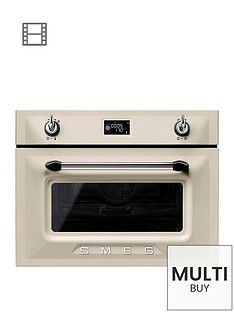 smeg-sf4920mcp-45cmnbspbuilt-in-single-electric-oven-cream