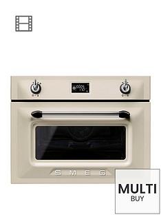 smeg-sf4920mcp-45cmnbspbuilt-in-single-electric-oven-cream