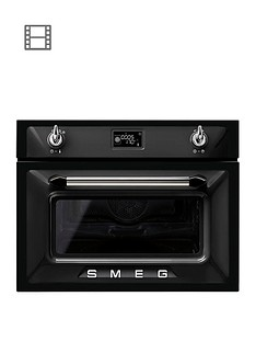 smeg-sf4920mcn-45cmnbspbuilt-in-compact-combination-microwave-oven