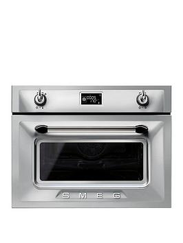 smeg-sf4920mcx-45cmnbspbuilt-in-compact-combination-microwave-oven