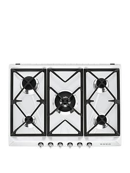 smeg-sr975bgh-70cm-built-in-5-burner-gas-hob-white