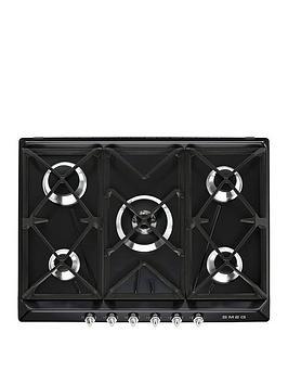 smeg-sr975ngh-70cm-built-in-5-burner-gas-hob-black