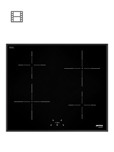 smeg-si5641b-60cm-built-in-touch-control-induction-hob-black