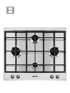 smeg-p360xgh-60cm-built-in-classic-gas-hob