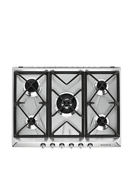 smeg-sr975xgh-70cm-built-in-gas-hob-with-5-burners-stainless-steel