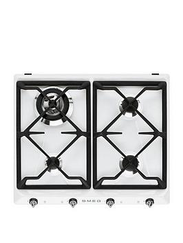 smeg-sr964bgh-60cm-built-in-4-burner-gas-hob-white