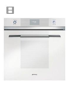 smeg-sfp109b-linea-60cm-pyrolitic-built-in-oven-white