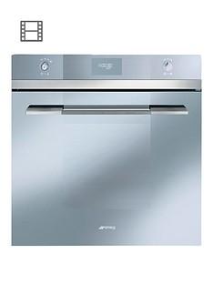 smeg-sfp109s-linea-60cm-built-in-pyrolitic-electric-oven-silver-glass
