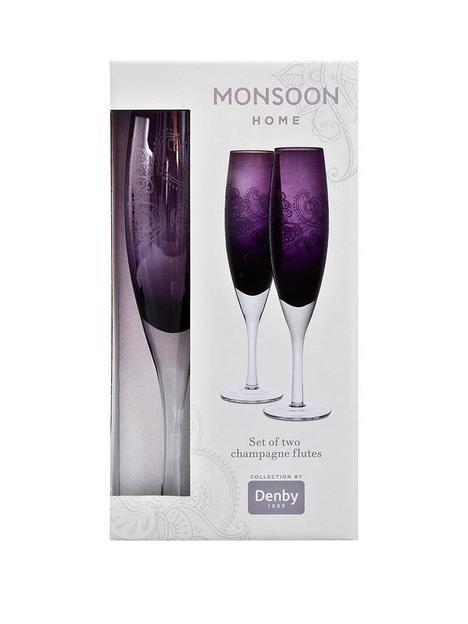 monsoon-denby-cosmic-set-of-2-champagne-flutes
