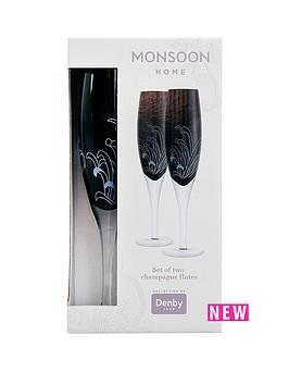 denby-monsoon-chrysanthemum-champagne-flute-pack-of-2