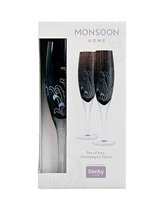 denby-monsoon-chrysanthemum-set-of-2-champagne-flutes