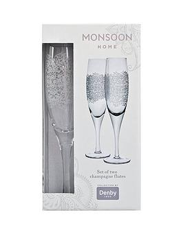 denby-monsoon-filigree-champagne-flutes-ndash-set-of-2